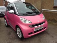 2010 60 SMART FORTWO 1.0 PASSION MHD 2D AUTO 71 BHP