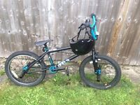 BMX 21inch Hard 400.3 with extras