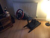 Xbox One Ferrari Racing Wheel & Stand