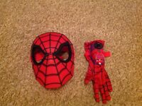 SPIDER-MAN MASK AND GLOVE