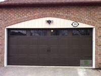 16x7 INSULATED GARAGE DOORS WITH WINDOWS......$1300 INSTALLED