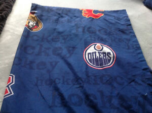 NHL double sheets/ curtains