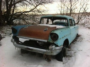 1957 Chevy for trade on Model A 2 door coupe