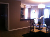 EXEC FULLY FURNISHED  2BD+2BTH+DEN/OFFICE ALL UTILITIES INCL