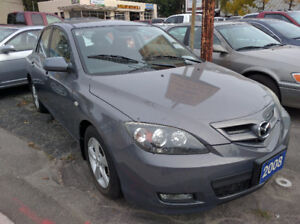 2008 Mazda Mazda3 Certification and E-test included