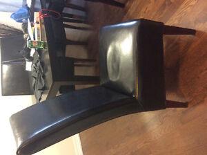 Parsons black chairs Oakville / Halton Region Toronto (GTA) image 3
