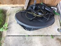 Sky tv dish with wire in good condition
