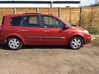 RENAULT GRAND SCENIC 2005 MODEL 7 SEATER FULLY LADED EVERY EXTRA 40,000 MILES 7 SEATER LOW MILLAGE