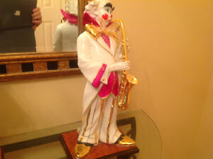 Toiles tableau Figurines Collection 3 Clowns musiciens
