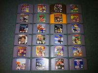 Nintendo 64 Games - Super Smash Bros, Mario Kart,
