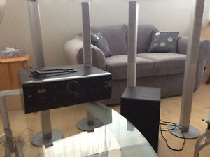 Amplifier/Receiver, Subwoofer and Speakers