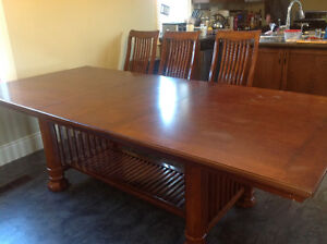 Diningroom table and 10 Chairs Cambridge Kitchener Area image 4