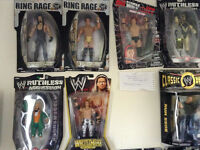 WWE ACTION FIGURES in box