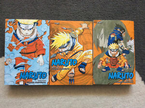 Naruto 3-in-1 Mangas