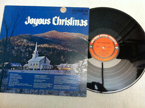 Joyous Christmas Vol 5 LP with Bing Crosby Columbia Special Prod