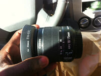 Canon EF-S 18-55 mm lens