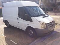 2009 Ford transit swb high top 4 months mot full service history £3250 Ono