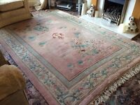 Lovely Large 100%Wool Chinese Rug.