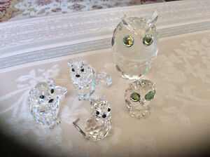 Mint condition....Swarovski Crystal Animals and Others