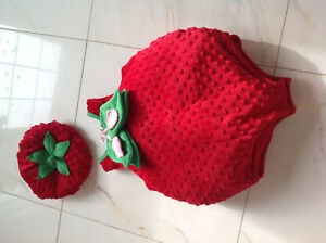 Adorable Infants Strawberry costume