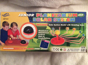Planetarium and Solar System Model with Rotating Arms Windsor Region Ontario image 1