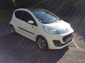 Peugeot 107 1.0 12v ( 68bhp ) 2013.5MY Envy Special Edition Free Road Tax