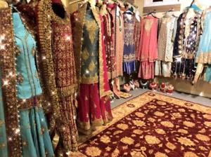 Pakistani and Indian dresses, suits, lengha party wear, peshwaz