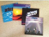 Sky records x4 LP vinyl record album collection. All good condition.