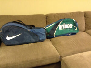 2 Tennis Racket Bags for $5