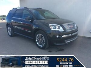 2011 GMC Acadia Denali- SUNROOF,DVD,SEATS 7 -$244.76BW