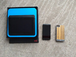 Blackberry Z10 with accessories
