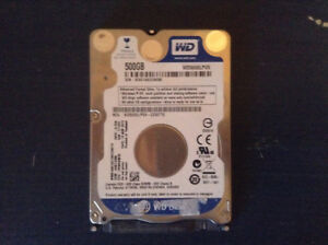 Disque dur de 500gb Western Digital