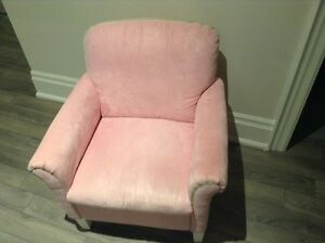 really nice pink/green stripes chair from Bombay kids