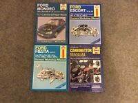Haynes Ford Manuals selection