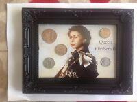 Queen Elizabeth coin set