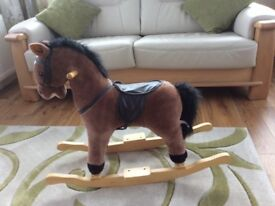 Rocking horse for sale.