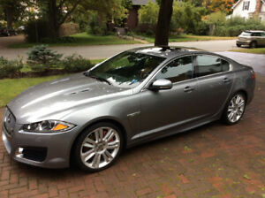 2012 JAGUAR XF-R  —SUPER PERFORMANCE LUXURY SEDAN—