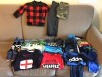 Bundle of boys clothes 3-4 years old
