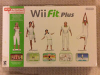 Nintendo Wii Fit Plus with Balance Board - New in box