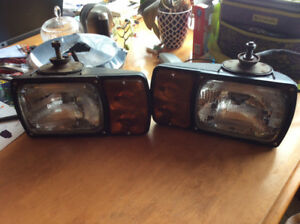Fisher plow lights