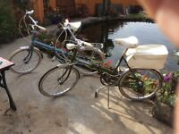 Two Raleigh folding cycles