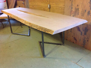 Live Edge Cherry Table  Tax Included