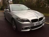 BMW 525 2.0TD Auto 2014 d M Sport fsh leather nav BUY FOR £69 PER WEEK