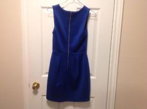 Dynamite royal blue dress, size x small