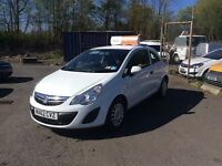 Vauxhall Corsa 2012, Only £116.03 per month, 3 Months warranty, One owner, Full service history.