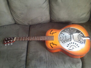 NEW FENDER RESONATOR ACOUSTIC GUITAR