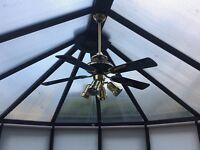 Conservatory fan light