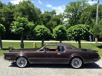 1972  Lincoln Continental Mark IV Cartier Edition