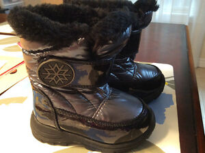 Cougar size 5 toddler girl winter boots