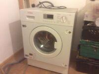 Integrated Bosch Washer Dryer